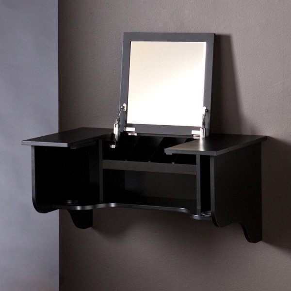 Ladies Ready With Compact Vanity Ledge