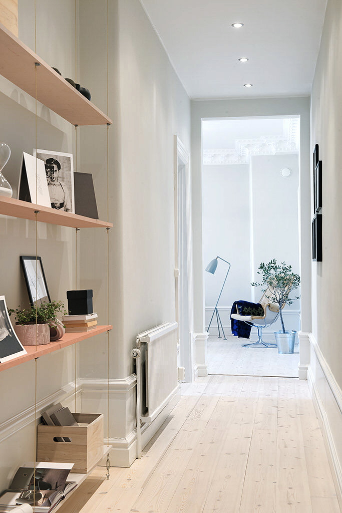 light coloured living room ideas how to decorate oblong cozy swedish apartment - your no.1 source of architecture ...