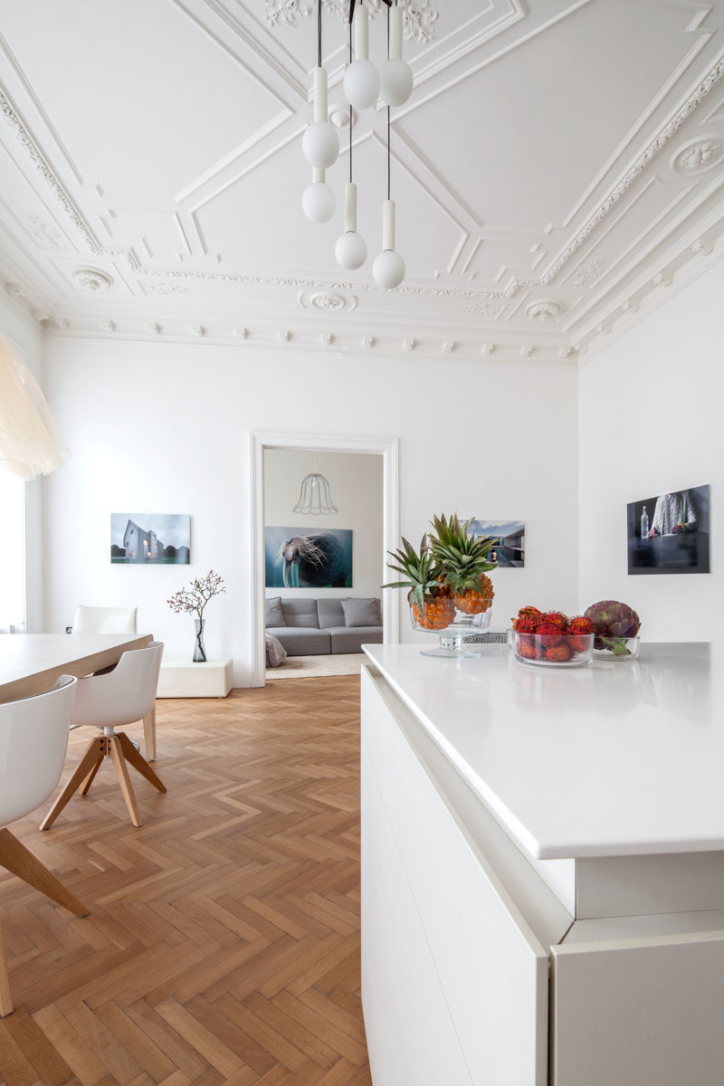Modern Renovation Of A Classic Apartment in Viennese  Your No1 source of Architecture and
