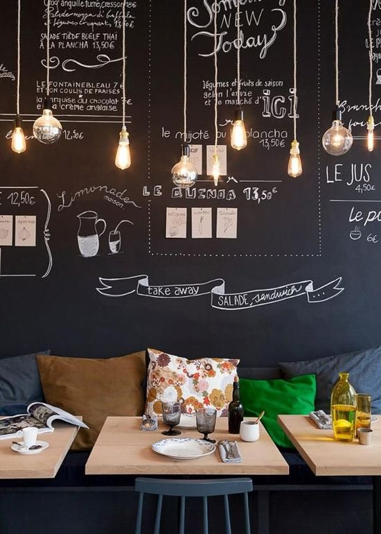 32 Chalkboard Decor Ideas  Your No1 source of Architecture and Interior design news