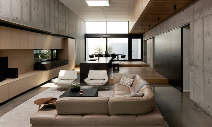 Minimal Concrete House By Robertson Design Studio 8 Your No 1