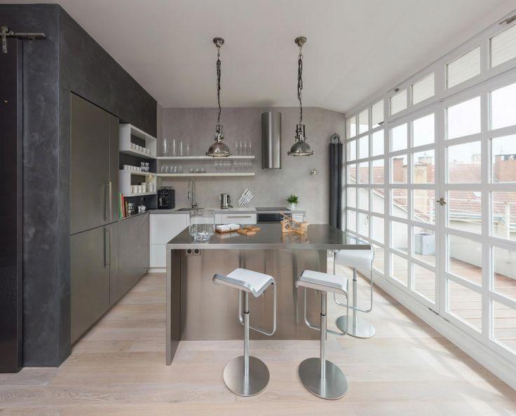 Industrial Modern Loft Apartment