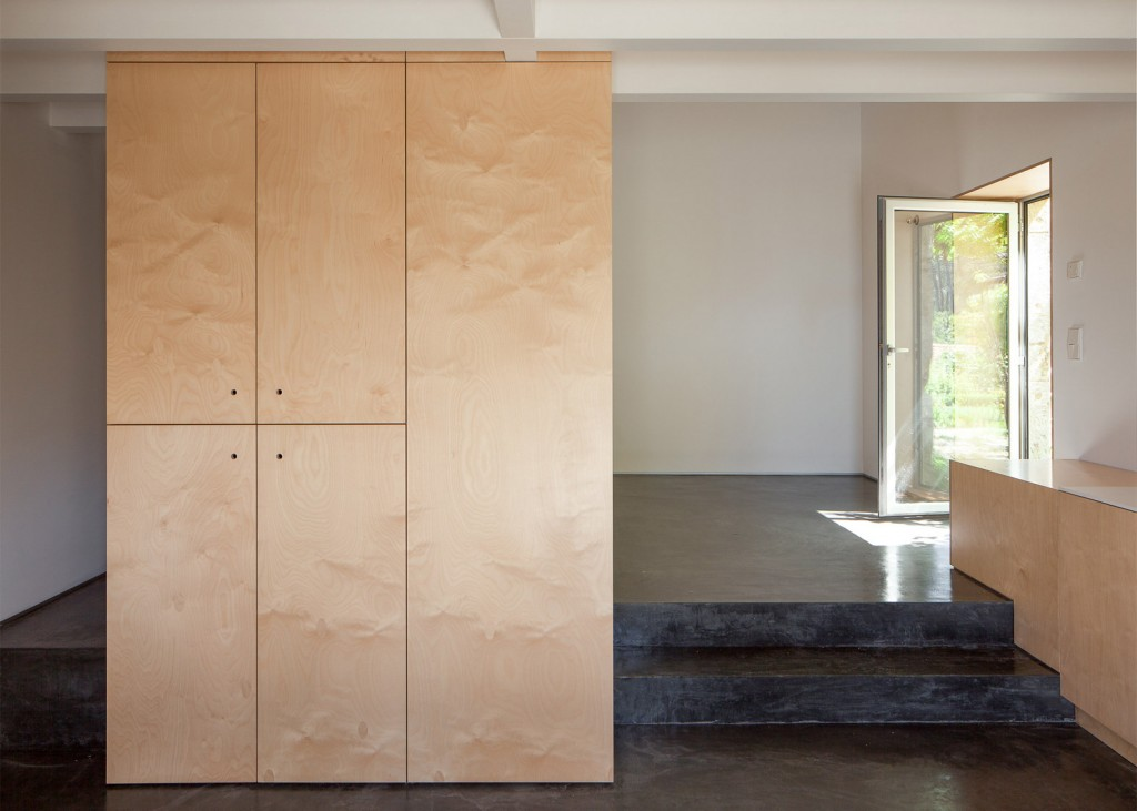 Birch Plywood Was Used To This Limited Budget Renovation
