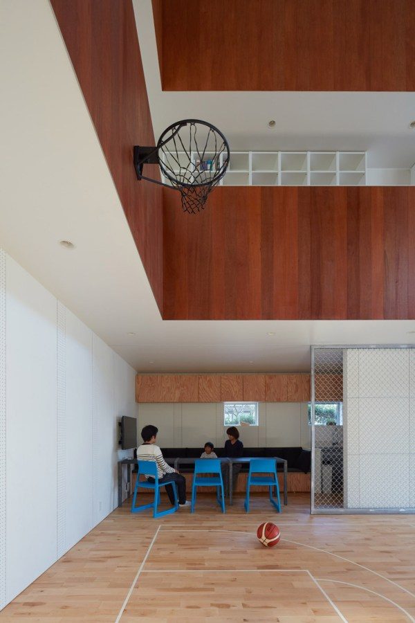 House In Japan Indoor Basketball Court