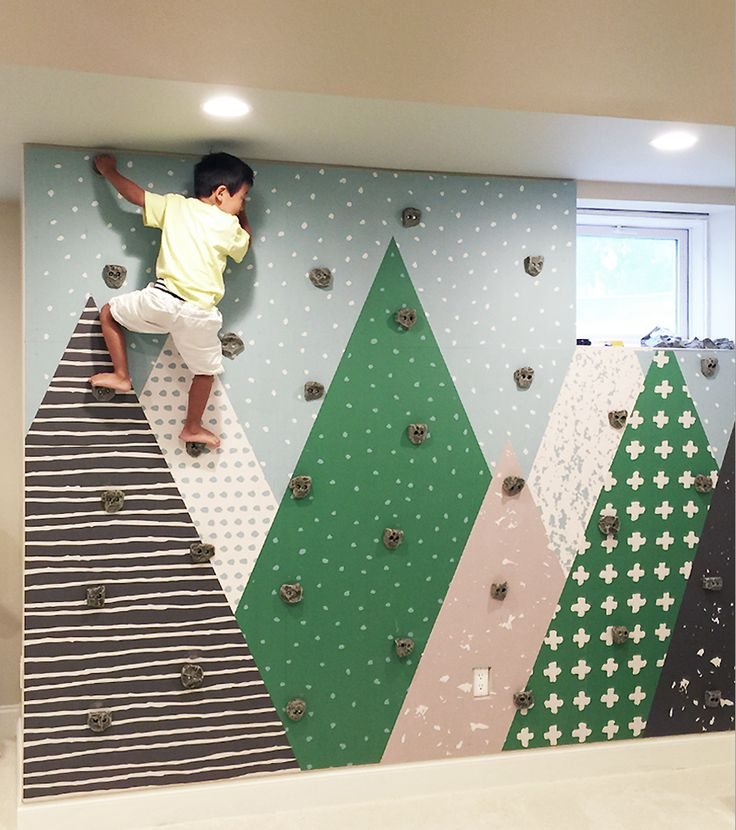 Image result for kids indoor rock climbing at home
