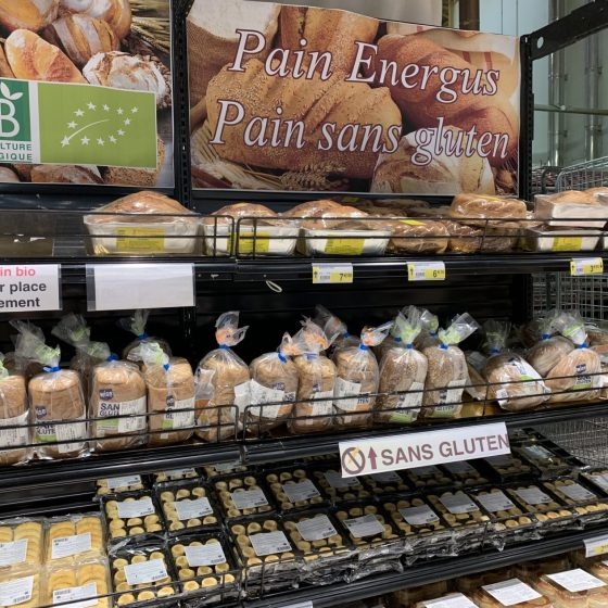 Cora bread section