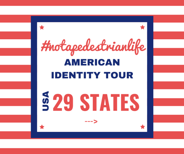 We had some itinerary changes throughout the planning for the American Identity Tour.