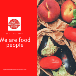 We admit it, we are food people