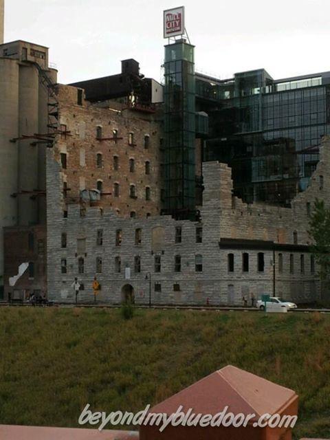 Mill Ruins in Minneapolis