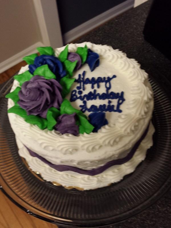 birthday cake, turning the next age