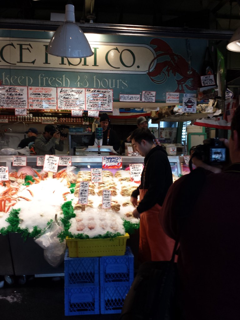 Pike Place Market, Debbie Macomber, Port Orchard, travel, travel blog, Washington, Southwest Airlines, Port Orchard, Olympic Mountains