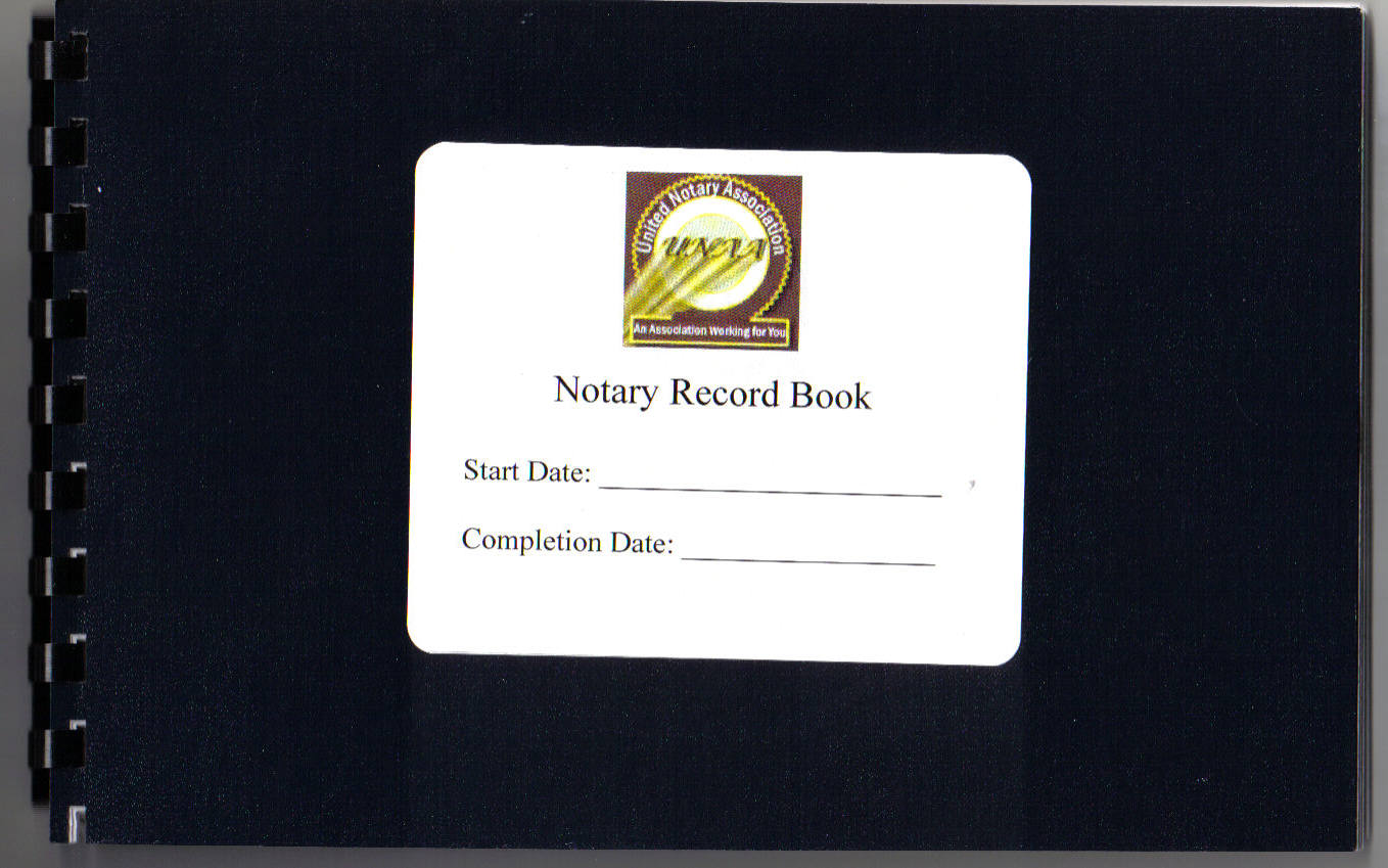 Notary Public Log Template