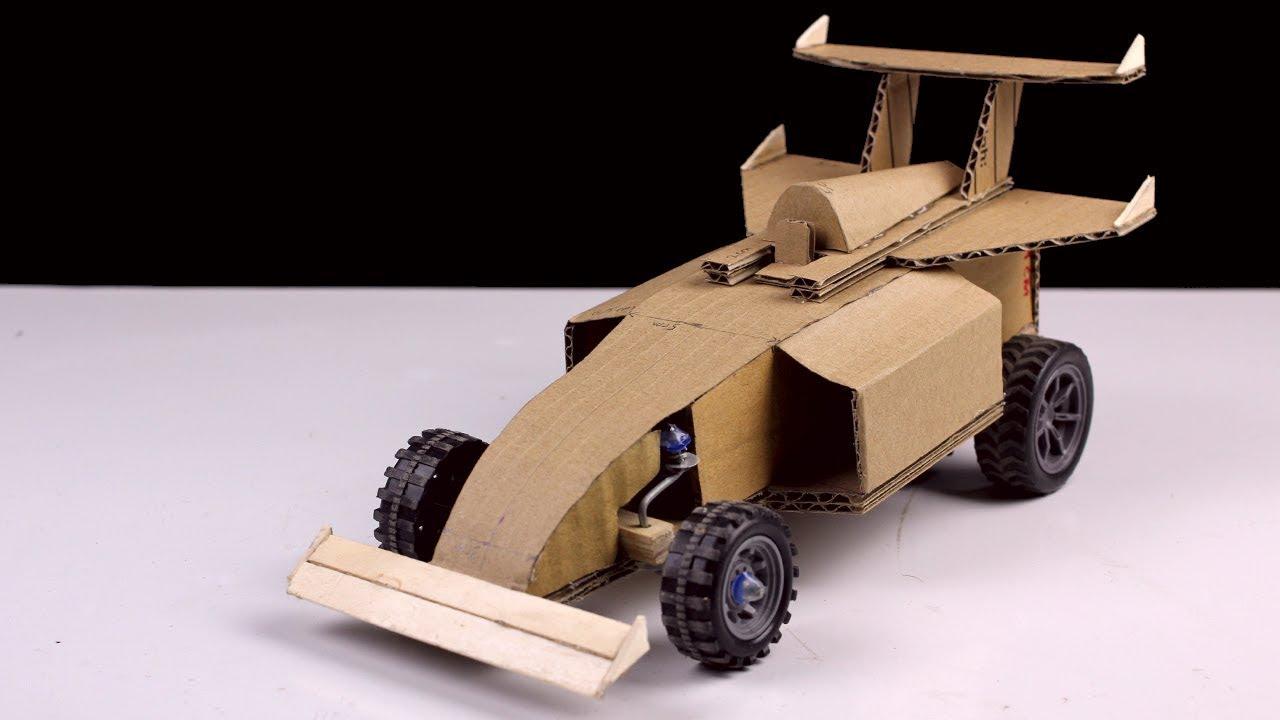 Cómo hacer un auto a control remoto inalámbrico casero