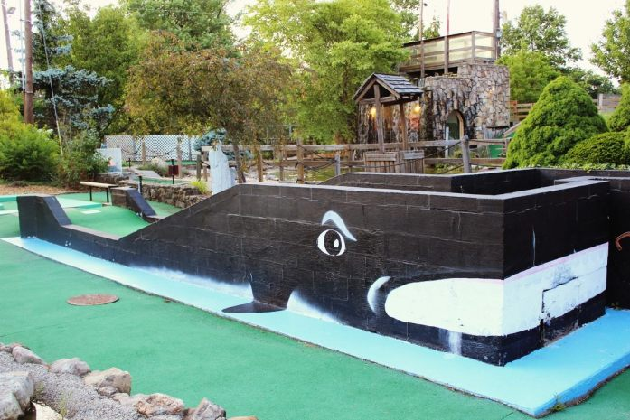 Mini Golf cristiano en Lexington, Estados Unidos