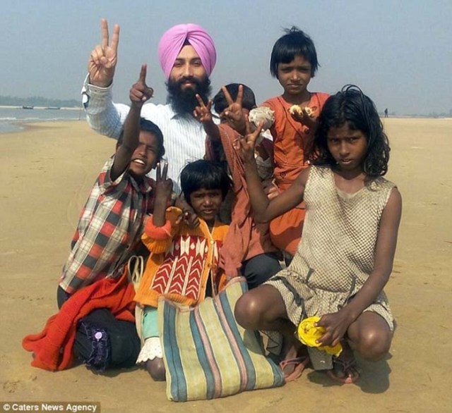 Sarwan Singh ei suoi figli