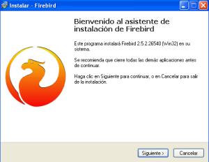 firebird install