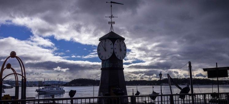 Aker Brygge. Oslo. Noruega 2017.