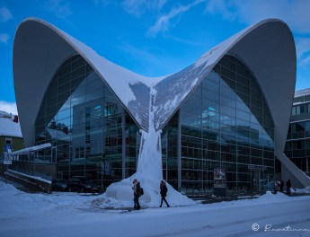 Biblioteca Pública de Tromsø en Noruega. 2017.