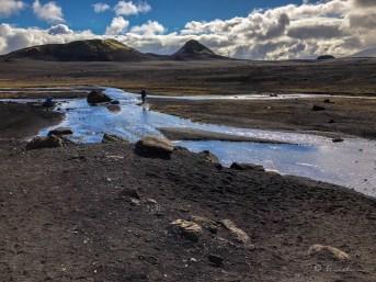 Río Innri-Emstruá. Trekking del Landmannalaugar.