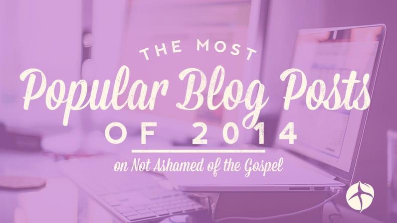 Most popular blog posts of 2014