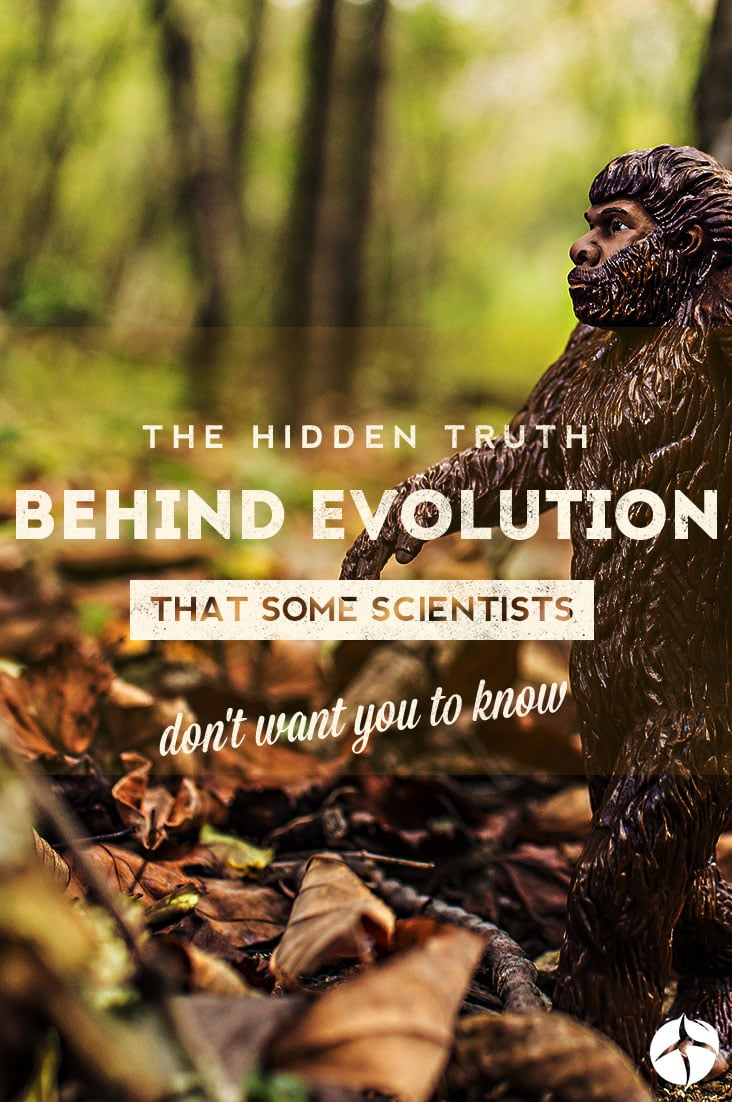 Not everything about the theory of evolution is true.