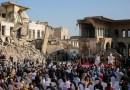 En medio de los escombros de Mosul, el papa Francisco dice que la esperanza es 'más poderosa que el odio'