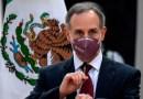Hugo López-Gatell, encargado de la respuesta contra el covid-19 en México, en el hospital con caso moderado de coronavirus