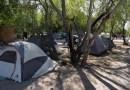 El improvisado campamento de migrantes en Matamoros, en la frontera entre EE.UU. y México, fue desmantelado