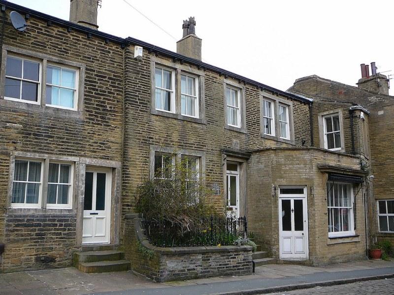 Casa de nacimiento de las hermanas Brontë