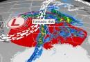 Amenaza de fuertes tornados acecha el sur de EE.UU. esta semana