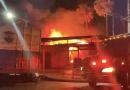 El Salvador: Bomberos intentan controlar incendio del parque Barrios de San Miguel