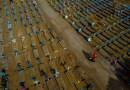 Brasil ya registra más de 400.000 muertes por covid-19 (suma de a miles a diario)