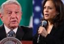 Kamala Harris habla sobre migración con el presidente de México, Andrés Manuel Obrador