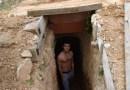 Joven discutió con su madre y se puso a cavar; ahora tiene una cueva con calefacción y wifi
