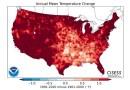 Tu ciudad se volvió más calurosa. NOAA anunció las nuevas normales climatológicas y estos son los cambios