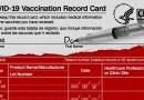 Así se ve la tarjeta de vacunación contra el covid-19 de los CDC