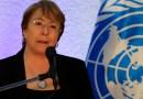"""Michelle Bachelet considera """"un ejemplo preocupante"""" la detención de tres defensores de derechos humanos en Venezuela"""