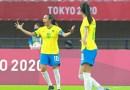 Las futbolistas brasileñas Marta y Formiga escriben sus nombres en la historia de los Juegos Olímpicos de Tokio