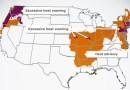 Peligroso calor récord «hornea» a EE. UU. en las dos costas