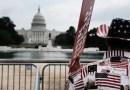 La manifestación en apoyo a los detenidos por los disturbios del Capitolio terminó sin incidentes