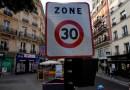 París establece un límite de velocidad de 30 km/h para reducir la contaminación