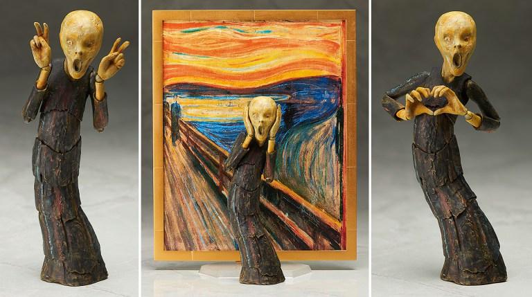 Empresa cria action figures da História da Arte