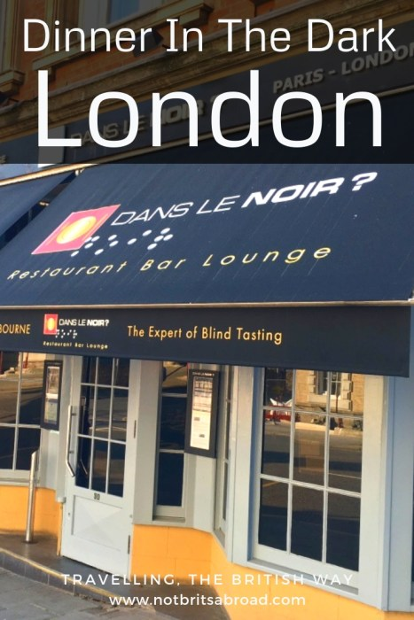 Dining In The Dark London >> Dinner In The Dark At London S Dans Le Noir Not Brits Abroad