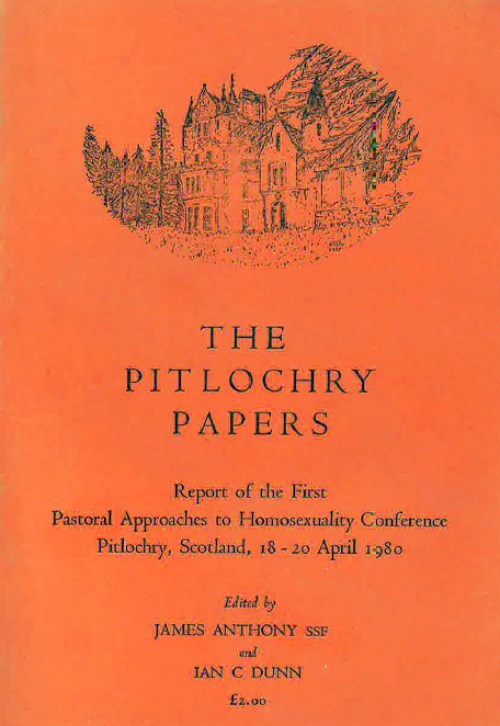 Published Report from the first Pastoral Approaches to Homosexuality conference held in Pitlochry, Scotland in April 1980