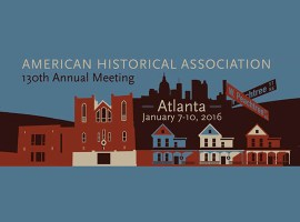 History of Sexuality at the 2016 American Historical Association Conference