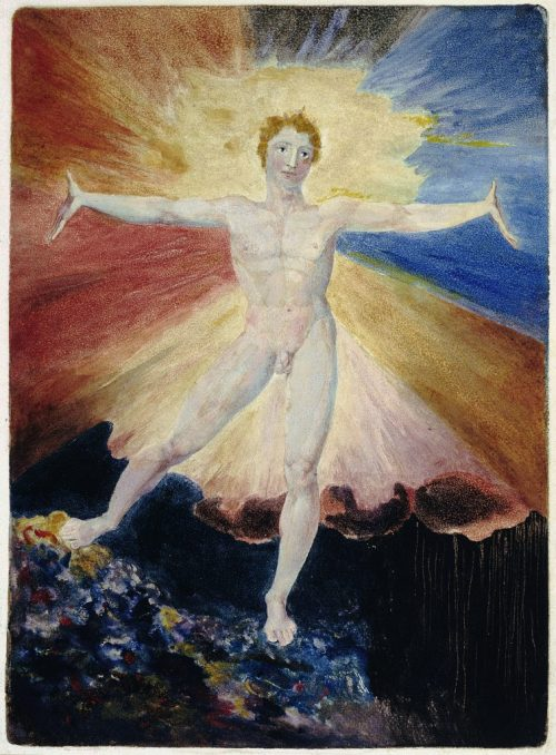 William Blake, Albion Rose, 1794-5 (Wikimedia Commons)