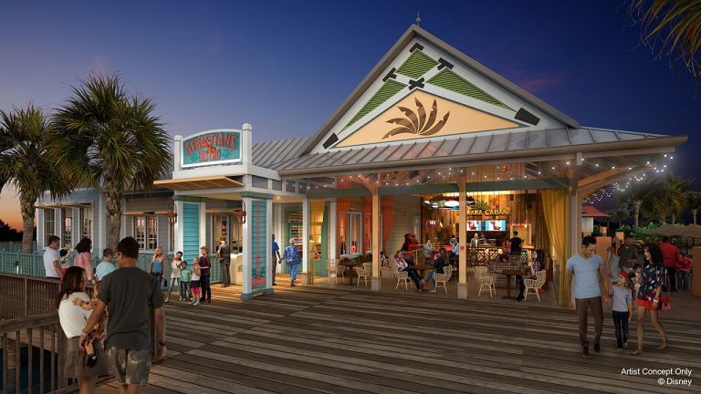 NEW: Details Emerge About Dining at Disney's Caribbean Beach Resort