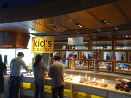 Hilton Tokyo Bay - Kids Breakfast