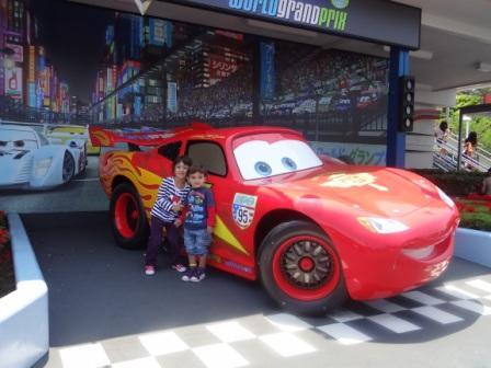 Cars at Tokyo Disneyland