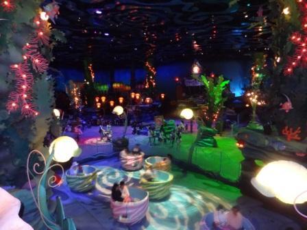 Inside the Mermaid Lagoon at Tokyo DisneySea